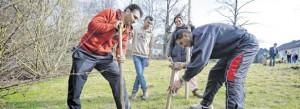 Der runde Tisch Bergerhausen organisiert Aktivitäten für Asylbewerber