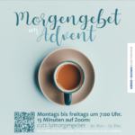 Morgengebet im Advent